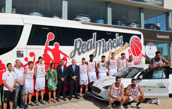 Terra Training se suma al patrocinio con El Real Murcia Baloncesto